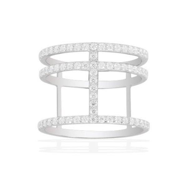 Neo-Classique Ring Croisette A14726OX