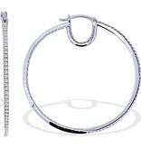 APM MONACO TIMELESS - AE6806OX - boucles d'oreilles - cristal - argent