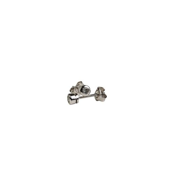 DIAMOND STUD EARRINGS BEZELSET