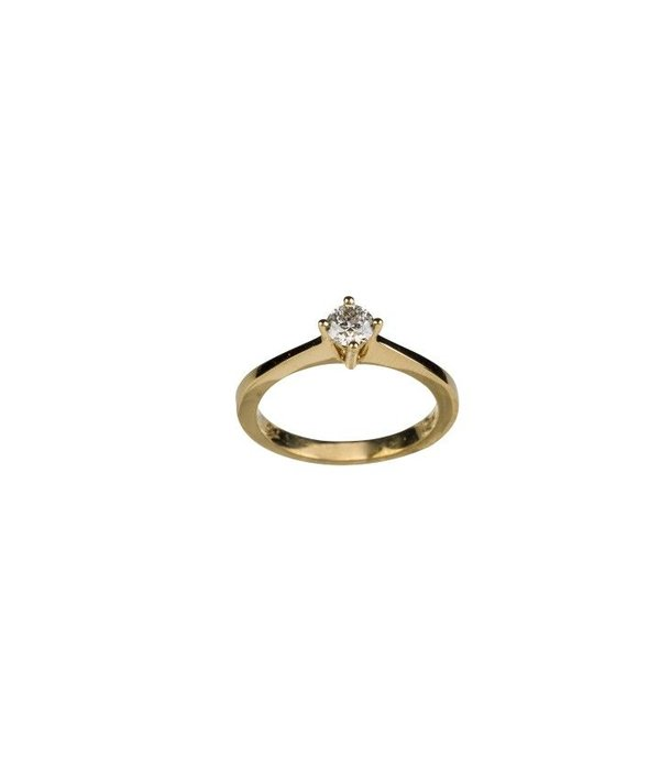 PRONG SOLITAIRE DIAMOND RING GJ / R0707SY038