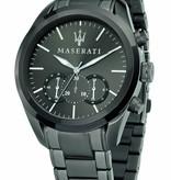MASERATI  Traguardo - R8873612002 - watch - chronograph - black color - 45 mm