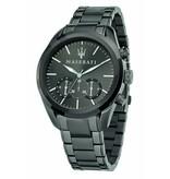 MASERATI  Traguardo - R8873612002 - Montre - chronographe - couleur noire - 45 mm