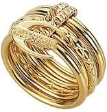 JUST CAVALLI Nur Unendlichkeit Ring Gelbgold PVD Edelstahl SCHX06