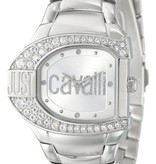 JUST CAVALLI Just Cavalli watch LOGO R7253160615 white steel set with crystal
