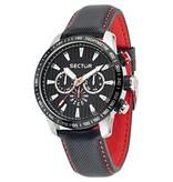 SECTOR Secteur No Limits Racing 850 montre chronographe noir et rouge R3251575008