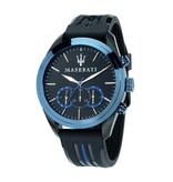 MASERATI  TRAGUARDO -  R8871612006 - horloge - chronograaf - blauw kleurig - 45mm