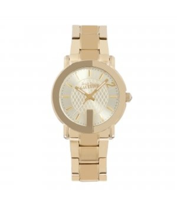 JEAN PAUL GAULTIER horloge roestvrij staal goud pvd 8502302