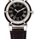 HELVECO HELVECO THE CROWN WHEEL WATCH BLACK DIAL H176640NNR
