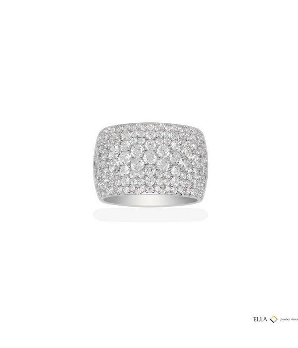 APM MONACO Ring STERLING ZILVER ZIRCONIUM A16409OX