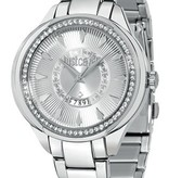 JUST CAVALLI JC01 Damenuhr R7253571504 mit Tag und Fall mit Kristallen