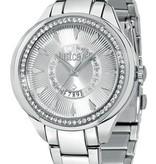 JUST CAVALLI Jc01 dames horloge  R7253571504 met dagaanduiding en kast bezet met kristallen
