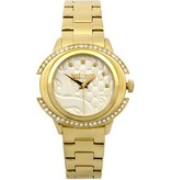 JUST CAVALLI Just Decor R7253216502 ladies watch in stainless steel with gold-colored crystals