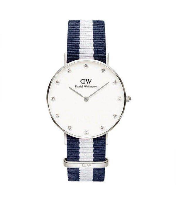 DANIEL WELLINGTON Glasgow - DW00100082 - Watch - 34MM - silver