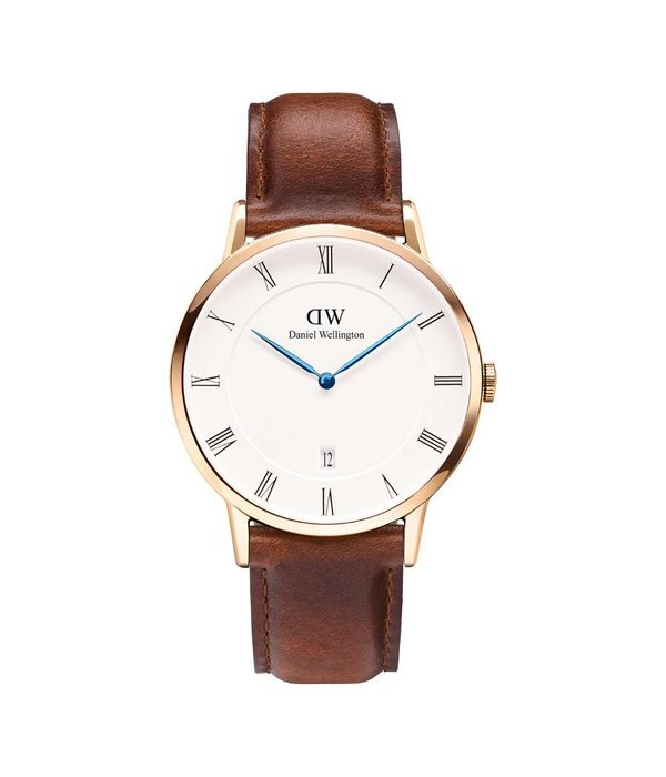 DANIEL WELLINGTON BRAVE ST MAWES DW00100083 38MM WATCH with day