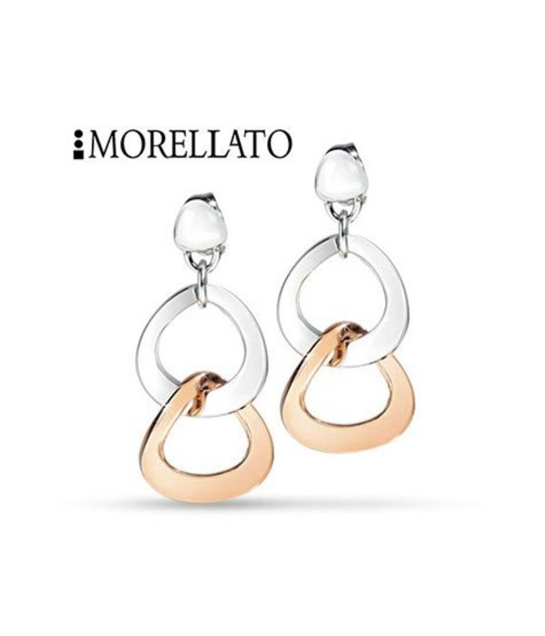 MORELLATO SENZA earring SKT05 IN rosé and silver stainless steel