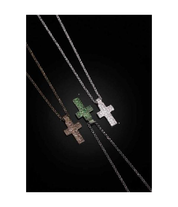 APM MONACO NECKLACE CROSS AP9781OX