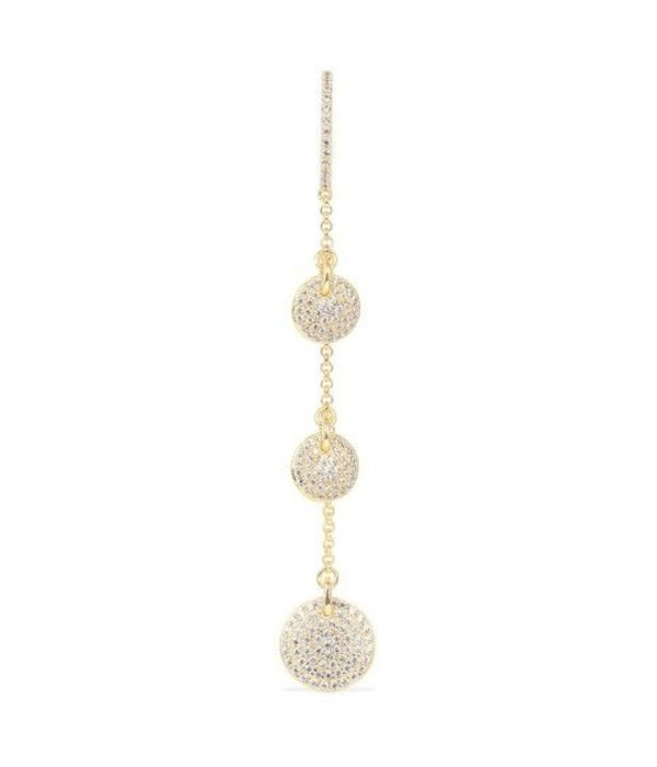 APM MONACO EARRINGS SAINT TROPEZ AE9538OXY gold silver with crystals