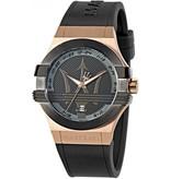 MASERATI  POTENZA - R8851108002 - herenhorloge - kunststof - rosé kleurig - 42mm