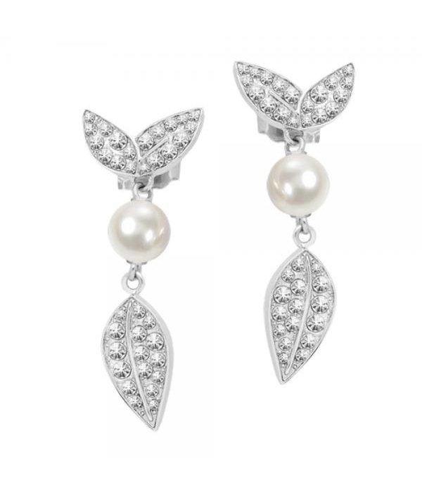MORELLATO boucles d'oreilles NATURA SAHL10 avec perles et de cristaux