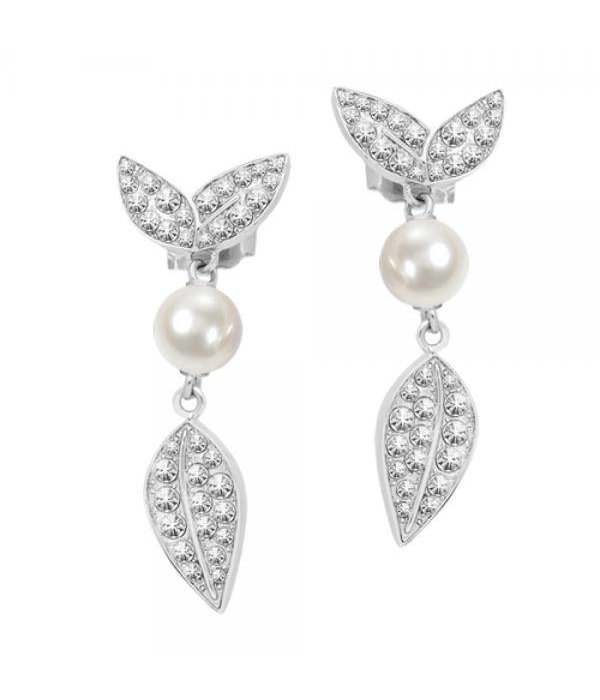 MORELLATO NATURA SAHL10 earrings with pearls and crystals