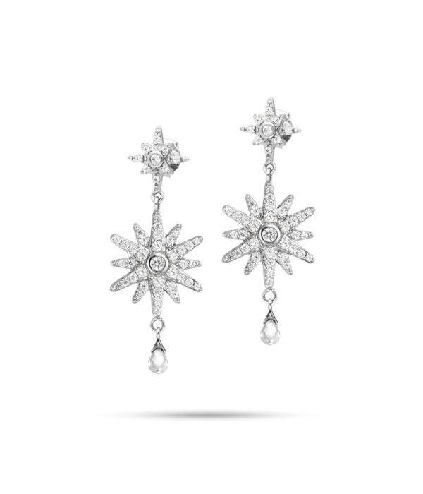 MORELLATO Oorhangers Pura SAHR03 in zilver bezet met kristallen
