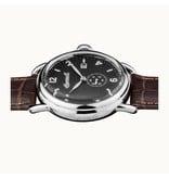 INGERSOLL I00801 The New England Herren-Uhr mit Tag aanduding und braunem Lederband