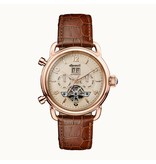 INGERSOLL I00901 The New England men's watch, automatic, brown leather strap