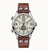 INGERSOLL Das Armstrong - I02101 - Uhr -, Maschine - Leder - 45mm