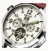 INGERSOLL The Armstrong -  I02101 -  horloge - , automaat - leer - 45mm