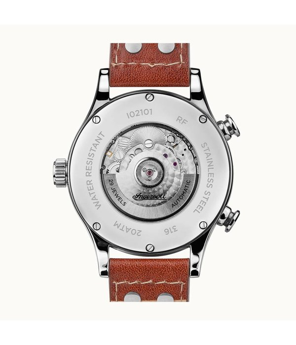 INGERSOLL The Armstrong - I02101 - watch, machine, leather - 45mm