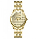JEAN PAUL GAULTIER 8502405 Gold Uhrengehäuse, Armband und Zifferblatt