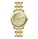 JEAN PAUL GAULTIER 8502405 horloge goud kleurige kast, band en wijzerplaat
