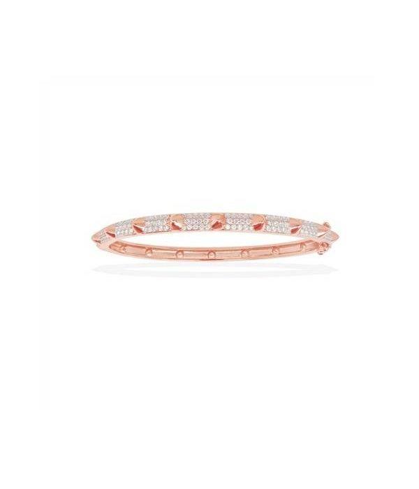 APM MONACO AB2796OX Armband Rose farbige Silber mit Kristall
