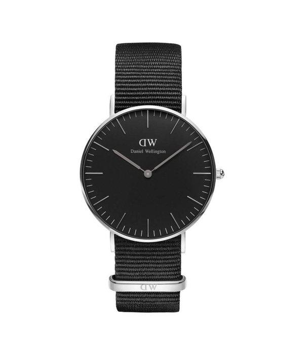 DANIEL WELLINGTON Classic Cornwall - DW00100151 - horloge - zilverkleurig  -36mm