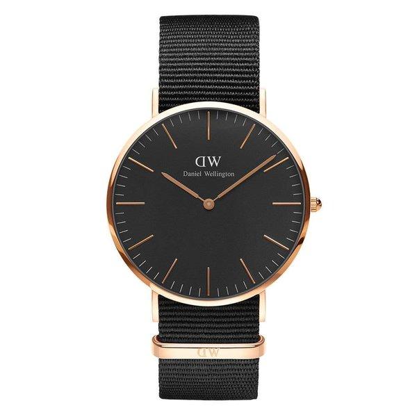 DW00100148 Classic Nato Black horloge