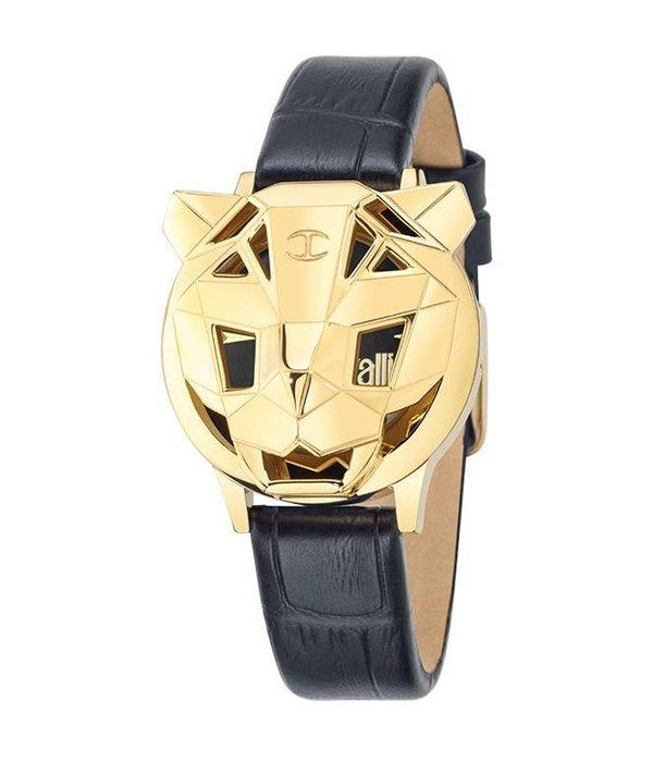 JUST CAVALLI Juste Tiger - R7251561504 - montre - cuir - or - 34mm