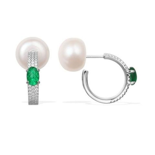 AE9586XGPL earrings MENTHE A L'EAU