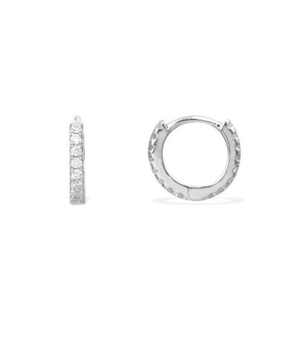 APM MONACO AE9563OX Promesse boucles d'oreilles en argent avec cristal