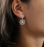 MORELLATO SAHK07 PURA earrings IN STERLING SILVER 925% WITH CRYSTALS