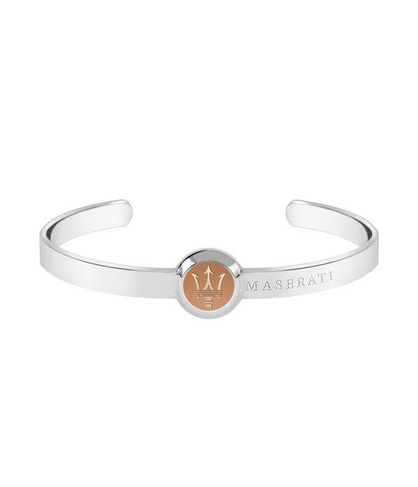 MASERATI  JM416AIK05 MEN Armband aus Silber roséfarbene EDELSTAHL