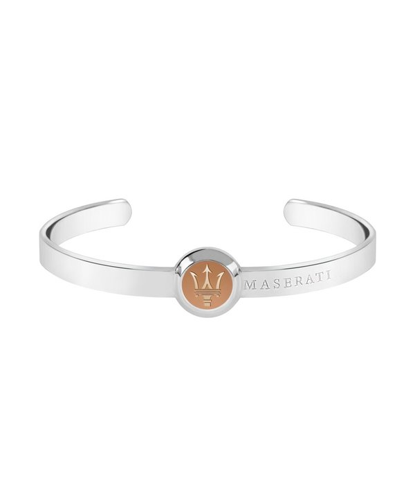 MASERATI  JM416AIK05 MEN'S BRACELET IN SILVER ROSE COLORFUL JACKET