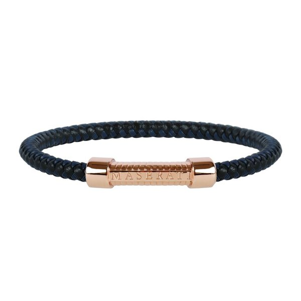 JM416AIK19 - BRACELET MEN - LEATHER - ROSé COLORED