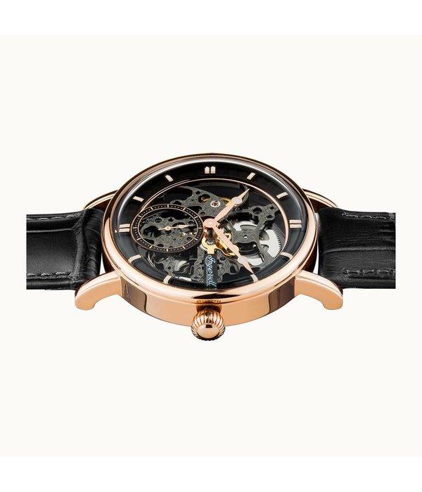 INGERSOLL La montre pour les hommes Herals I00403, automatique avec cadran ajouré