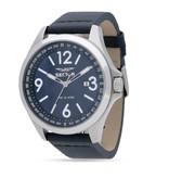"""SECTOR R3251180017 de montre pour """"140"""" hommes avec cadran bleu et bracelet en cuir bleu"""