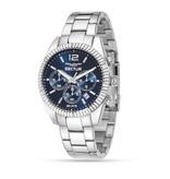 "SECTOR R3273676004 ""240"" racing horloge , chronograaf met blauwe wijzerplaat"