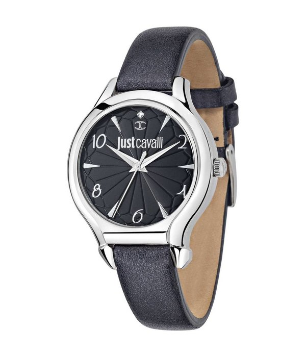 JUST CAVALLI R7251533505 Just Fushion ladies watch with black leather strap