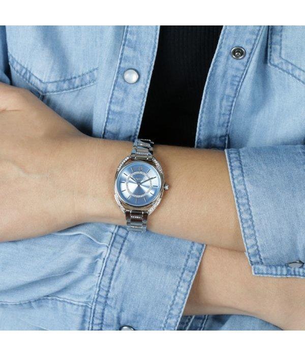 MORELLATO R0153137506 Tivoli dames horloge met blauwe wijzerplaat en kristallen