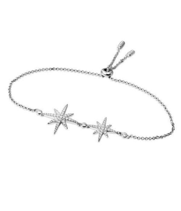 APM MONACO AB3325OX Meteorites Armband aus Silber mit Kristall