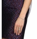 APM MONACO AB3083OX bracelet Sublime en argent avec cristal