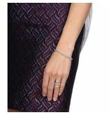 APM MONACO AB3083OX Sublime Armband aus Silber mit Kristall